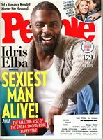 People Magazine November 19, 2018 - Idris Elba - Sexiest Man Alive - Men We Love