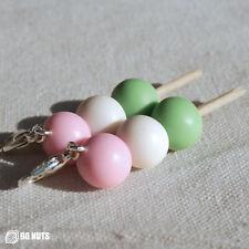 Dango Stick Charm Polymer Clay Mochi Keychain Japanese Food