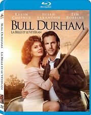 BULL DURHAM BLU RAY Movie - Brand New & Sealed -Fast Ship! (HMV-078/HMV-36)