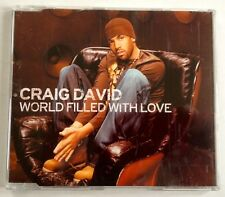 Craig David  3 track CD - World Filled With Love