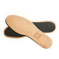 Leather Shoe Insoles Active Carbon Real Inner Sole Boots All Size Ladies Mens
