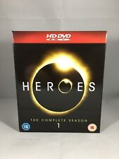 Heroes The Complete Season 1 HD DVD Region 2 UK Cert 15 HDDVD Box Set