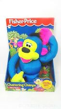 Fisher Price 1994 chattering chimps strapped in box 2852 puffalump monkey