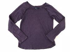 Gap Kids Girls Size Medium 8 Long Sleeve Ruffle Trim Shirt