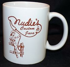 Nudies Rodeo Tailors to Stars Hollywood California Custom Java Coffee Cup Mug