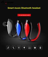 Bluetooth Wireless In Ear Hook With Mic Earphone Car Handfree Headset Universal