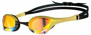 Swans Falcon Mirror - SR71M Swimming Goggles - Clear Yellow