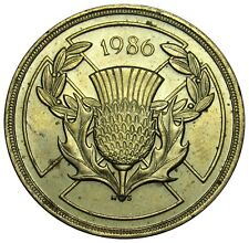 Great Britain 2 Pounds coin 1986 km#947 Nickel-Brass Commonwealth Games