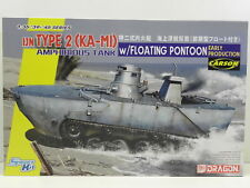 Dragon 6916 modelo kit 1jn Type 2 (ka-m1) tanque amphibious w/f. pontoon m.1:35