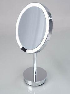 JUST LOOK SR DECOR WALTHER chrom, 5 fach, LED - Kosmetikspiegel - Standspiegel