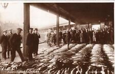 Fish Market Aberdeen  unused RP old pc 1934 Valentines