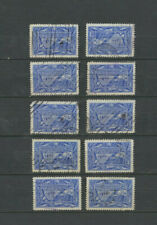 Canada #302 Used 1951 Fishing Resources Dollar High Value WHOLESALE LOT of 10
