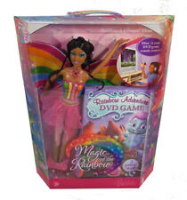 Barbie Fairytopia Elina African American Doll PLUS Rainbow Adventure DVD Game