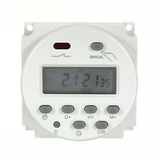 LCD Digital Timer Switch Microcomputer Control 16A 12V Programmable Time Relay