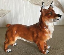 ROYAL DOULTON DOG WELSH CORGI SPRING ROBIN MODEL No. HN 2559 GLOSS PERFECT