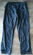 Performance Bike Borough Rain Pants Pant Size S Small Black Nylon Cycling Gear