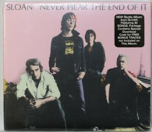 Sloan – Never Hear The End Of It - Digipak - New Sealed CD (C1369)