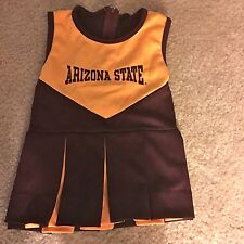 ARIZONA STATE PLEATED GIRL'S CHEERLEADER DRESS -NO TAG OR SIZE-SEE MEASUREMENTS