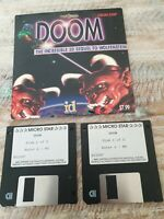 DOOM PC GAME IBM MICRO STAR SHAREWARE ID SOFTWARE 1994 NOT BIG BOX