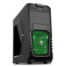 AvP STORM 27 Gaming Pc Computer Tower case-Front USB 3.0 & LED VERDE