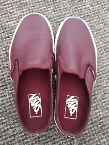VANS Slip On Mules. Size 6. Good condition