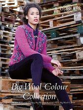 Rowan Big Wool Colour Collection - 13 Modelle