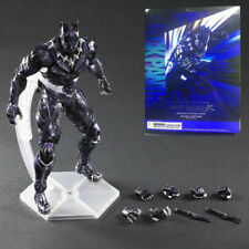 Play Arts Kai Marvel Universe Hero Black Panther Action Figures Statue Model Toy
