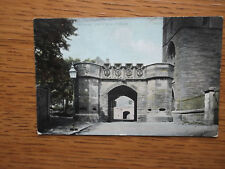W R & S RELIABLE SERIES R1916 POSTCARD GATEWAY, LINLITHGOW PALACE, POSTED 1905