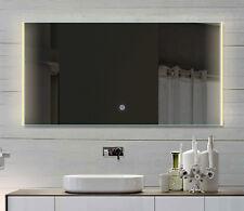 LED Spiegel Badezimmerspiegel Lichtspiegel in kalt/warmweiß 120x62 cm HLM120X62