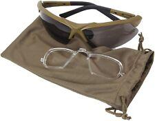 Coyote Brown Spec-Ops Military Ballistic Glasses Tactical Eyewear Kit 10537