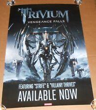 Trivium Vengeance Falls Poster Original Promo 24x36