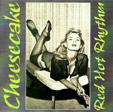 RED HOT RHYTHM Cheesecake Series CD - 25 Wild tracks 1950s Rock 'n' Roll - NEW