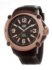NEW CAT by Caterpillar P219121129 Mens Ranger Analog Rose Gold Bezel Black Watch