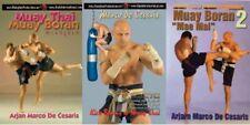 3 Dvd Set Muay Thai Kickboxing Budo elbow kicks bag work Arjan Marco De Cesaris