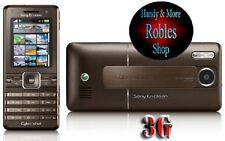 Sony Ericsson K770i Braun (Simlock Frei) 3G Cybershot 3,2MP Radio GUT
