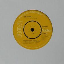 """BACCARA 'PARLEZ-VOUS FRANCAIS' UK 7"""" SINGLE"""