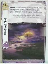 Legend of the Five Rings LCG - 1x #011 Windswept Yurt - Tears of Amaterasu