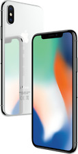 "Apple iPhone X 64GB Silber LTE iOS Smartphone ohne Simlock 5,8"" Display 12MPX"