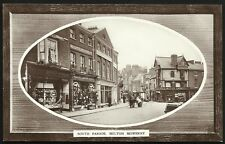 Melton Mowbray. South Parade by & showing J.W. Warner, Melton Mowbray.