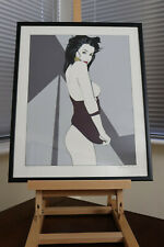 Patrick Nagel, 4 framed Serigraph prints, Signed by his widow, Jennifer Dumas
