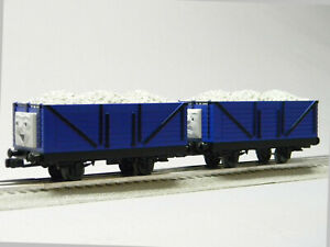 LIONEL THOMAS & FRIENDS JAMES TROUBLESOME TRUCKS (2 PACK) O GAUGE 1928092 NEW