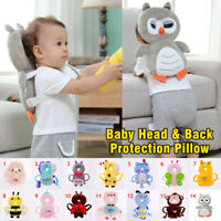 Cute Animal Baby Head Protection Pad Back Neck Cushion Pillow Toddler