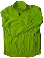 Nike Element Shield Dri-Fit Thermal Running Jacket 548148-702 Men'S L - Volt