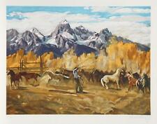 """Conrad Schwiering """"Singling Out"""" 1982. L/E Lithograph - Hand-signed/numbered"""
