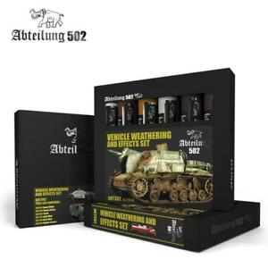Abteilung 502 - OILS SETS - Vehicle Weathering and Effects Set