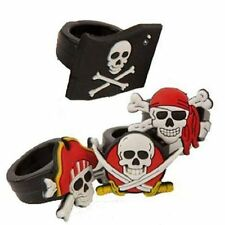 20 PIRATE RINGS FINGER~SKULL~CROSSBONES~PINATA LOOT PARTY BAG FILLER~FREE PP UK