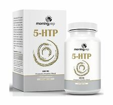 5-HTP Supplement 120 count (High Dosage) Of 200mg Per Caps with... Free Shipping