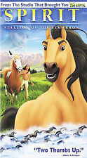 Spirit: Stallion of the Cimarron (VHS, 2002, Clamshell) VHSU12
