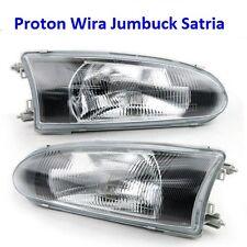 New Proton Wira Persona Satria M21 LH+RH Headlights Glasses Lens Headlight Lamps