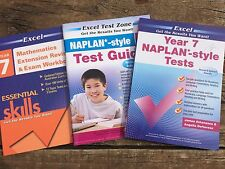 EXCEL YEAR 7 NAPLAN STYLE TEST GUIDE MATHEMATICS EXTENSION REVISION EXAM SKILLS